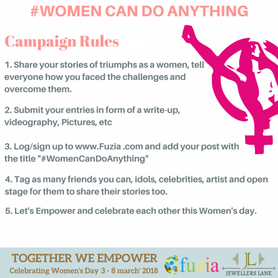 #WomenCanDoAnything