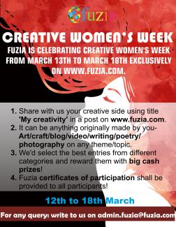 Creative Women's week