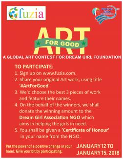 Art for good!
